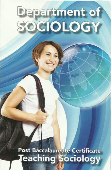 What are the requirements for teaching sociology at the college level?