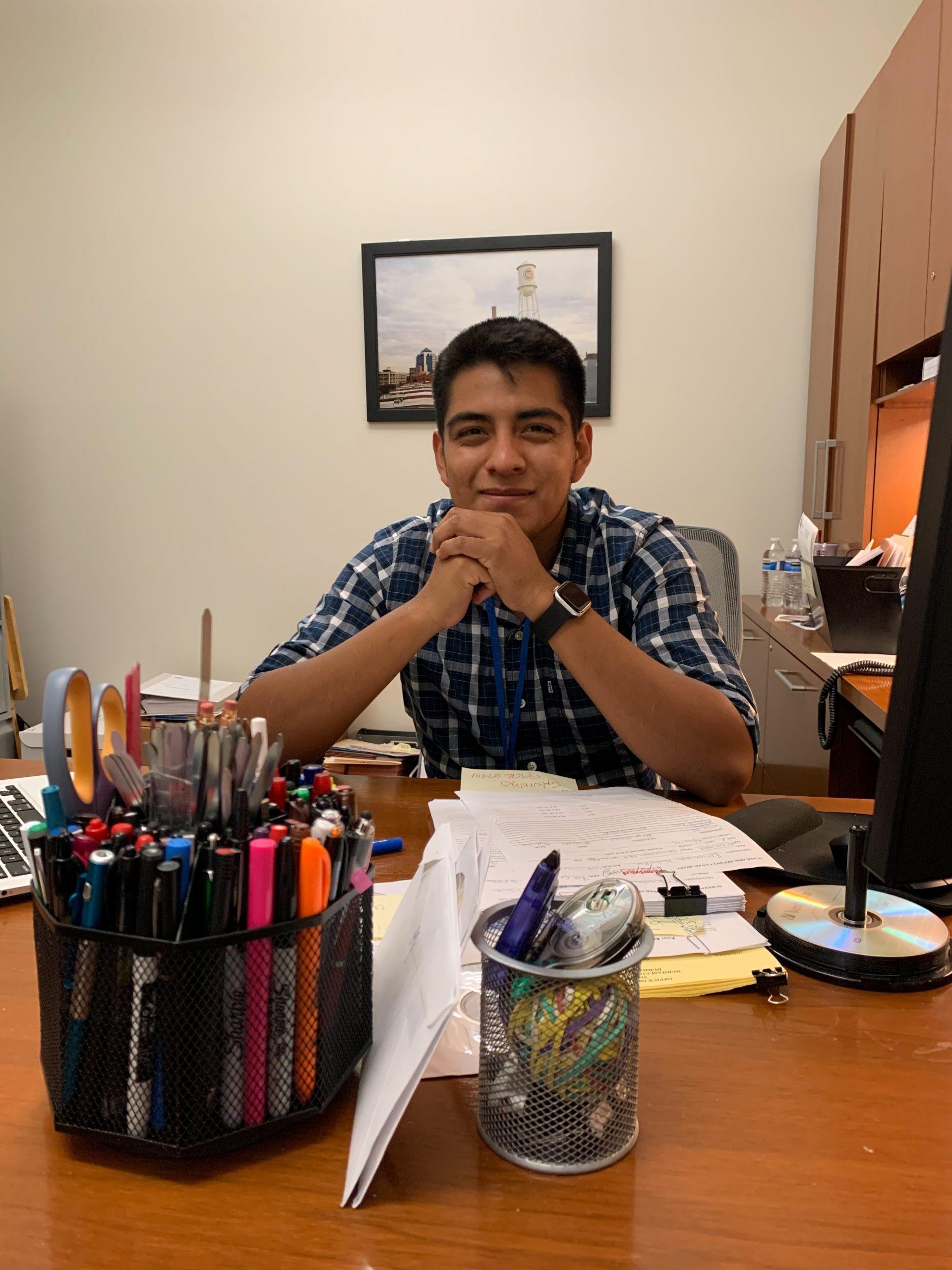 Erick Jimenez, Sociology Internship 2020 at Family Services of the Piedmont